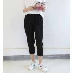 Ranche - Tassel Cropped Pants