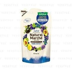 Kracie - Naïve Natural Marche Body Wash (Plum and Grape) (Refill)