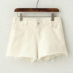 ninna nanna - Distressed Shorts