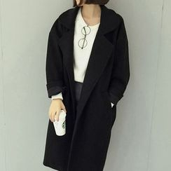 Fashion Street - Woolen Long Coat