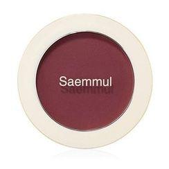 The Saem - Saemmul Single Blusher (#RD02 Dry Rose)