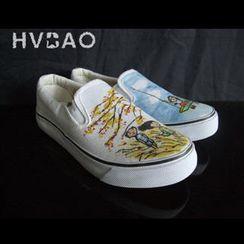 HVBAO - 'In the Outdoors' Canvas Slip-Ons