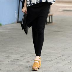 SO Central - Inset Wrap Skirt Leggings