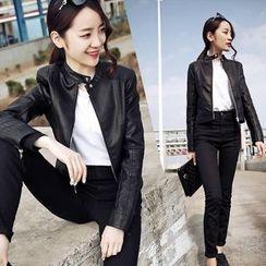 EFO - Faux-Leather Jacket