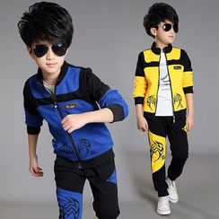 Pegasus - Kids Set: Print Jacket + Sweatpants