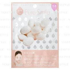 Sun Smile - Pure Smile Essence Mask Series For Milky Lotion (Silk)