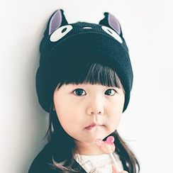 Hats 'n' Tales - Kids Cat Knit Beanie