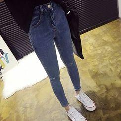 YUKISHU - Ripped Skinny Jeans