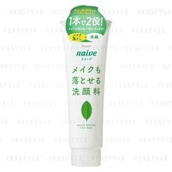 Kracie - Naive Makeup Remover Cleansing Foam (Green Tea)