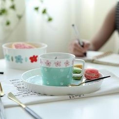 Kawa Simaya - Floral Cup/ Plate