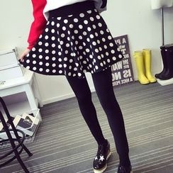 della molla - Leggings Inset A-line Skirt