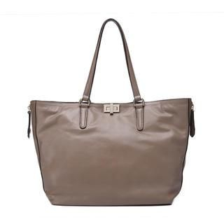 MBaoBao - Genuine-Leather Tote