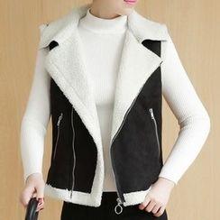 Cottony - Notch Lapel Vest
