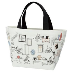 Skater - Mickey Mouse Canvas Lunch Tote Bag