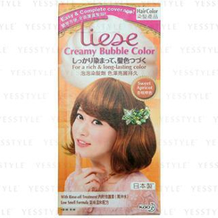 Kao - Liese Creamy Bubble Hair Color (Sweet Apricot)