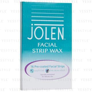 Facial wax strip