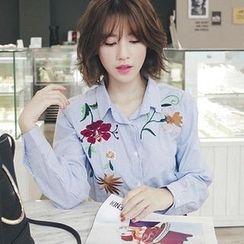 EFO - 長袖刺繡襯衫