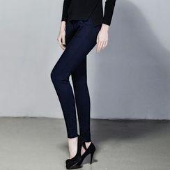 Kleggings - Fleece-lined High-waist Leggings