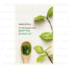 Innisfree - It's Real Squeeze Mask (Green Tea)