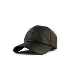 Ohkkage - Faux-Leather Baseball Cap