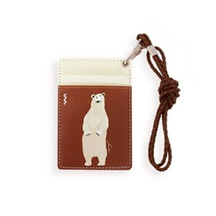 LIFE STORY - Animal Illustration Card Holder - Bear