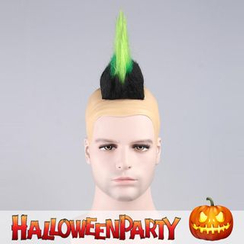 Party Wigs - Halloween Party Wigs - Green Skin