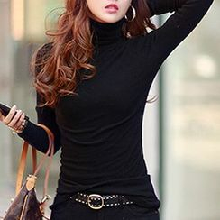 Ranee - Long-Sleeve Turtle-Neck T-Shirt