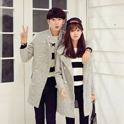 Je T'aime - Couple Matching Wool Coat