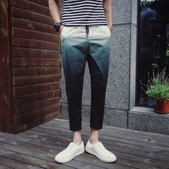 UniMOD - Gradient Cropped Tapered Pants