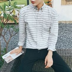 Troopers - Long-Sleeve Striped Shirt
