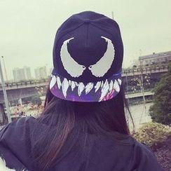 Pompabee - 牛角印花帽子