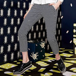 ELF SACK - Dotted Cropped Pants
