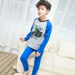 Pegasus - Kids Set: Print Long-Sleeve T-Shirt + Pants
