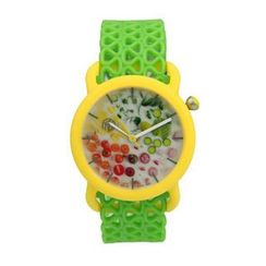 Moment Watches - BE HEALTHY Time to Cherry-sh! Strap Watch