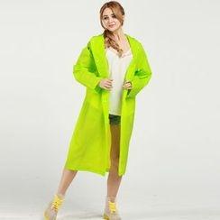 Wild Bamboo - Translucent Rain Coat