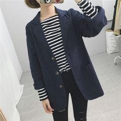 Anlay - Loose-Fit Linen Blazer