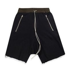 MIJIKO - Drop Crotch Sweat Shorts