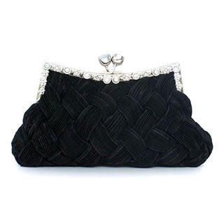 Moonbeam - Kiss-Lock Woven Clutch