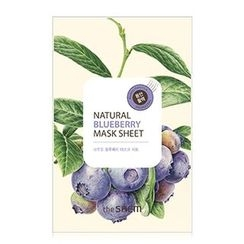 The Saem - Natural Blueberry Mask Sheet 1pc