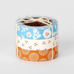 LIFE STORY - 'Daily Like' Series Decorative Tape Set (3 pcs) - BEACH