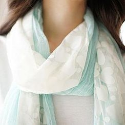MASoeur - Patterned Color-Block Scarf