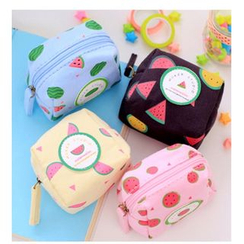 School Time - Watermelon Print Coin Purse