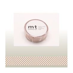 mt - mt Masking Tape : mt 1P Broken Line (Red)