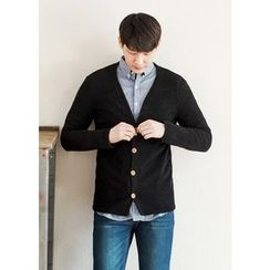 GERIO - V-Neck Cardigan