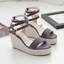 Mancienne - Wedge Mules