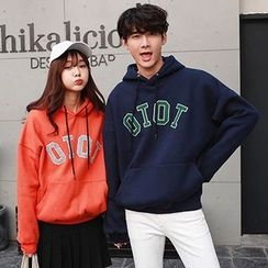 Azure - Couple Matching Letter Hoodie