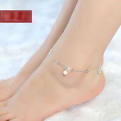Sylvion - Faux Pearl Anklet