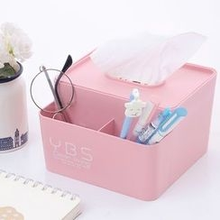 Show Home - Tissue Box with Desktop Organizer