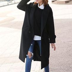 Ebbuxida - Woolen Long Coat