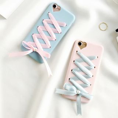 Milk Maid - iPhone 6 / 6S / 6 Plus / 7 / 7 Plus Lace-Up Case